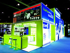 Linx Aluminium Stands for Exhibitions