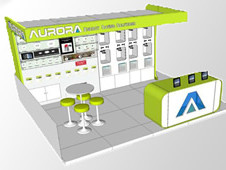 CAD based exhibition stands