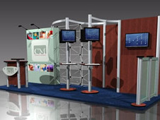 Aluminium Profile for Exhibitions in UK